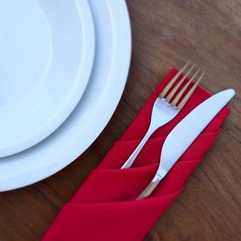 Flatware, Cutlery, Tableware, Fork, Knife, Porcelain