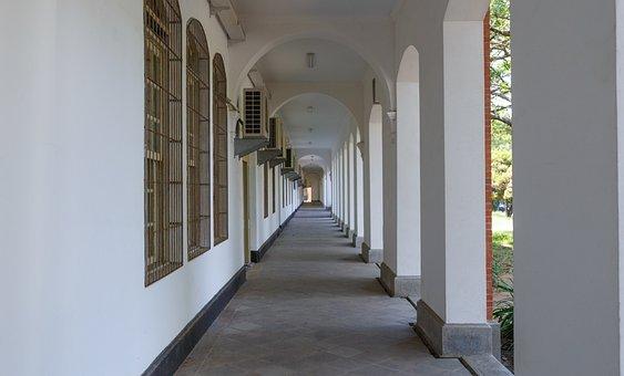 Architecture, Arch, Hallway, Indoors, House, Door