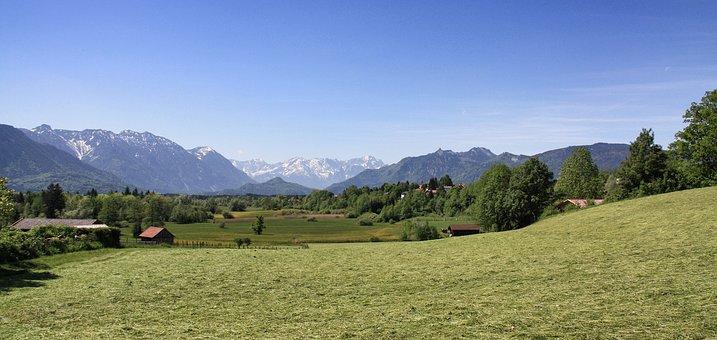 Nature, Panorama, Landscape, Mountain, Hill, Sky