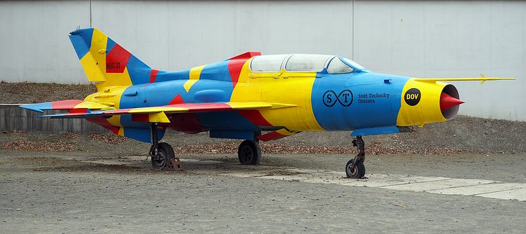 Mig 21, Please Don't Area Of Vitkovice