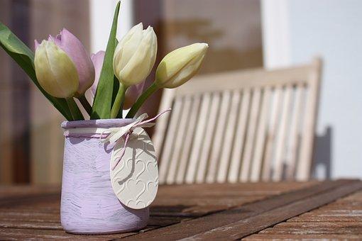 Flower, Wood, Table, Woods, Nature, Vase, Ornament