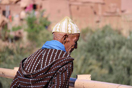 Outdoors, Nature, People, Morocco, Observer, Elderly