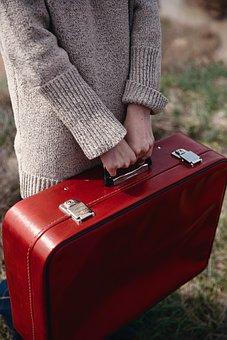 Luggage, Case, Portfolio, Travel, People, Tourist