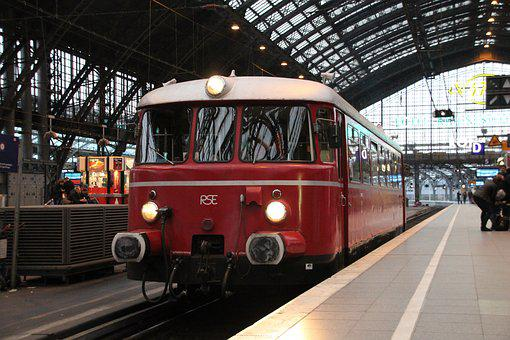 Train, Transport System, Railway, Station, Travel