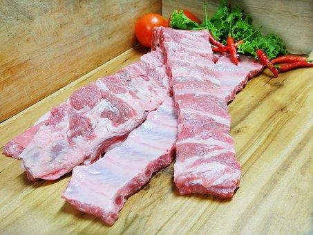 Pig, Pork, Meat, Pork Steak, Delicious, Steak, Rib