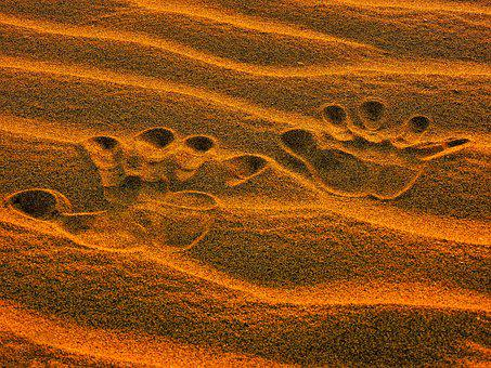 Desert, Sand, Dry, Background, Pattern, Texture, Sandy