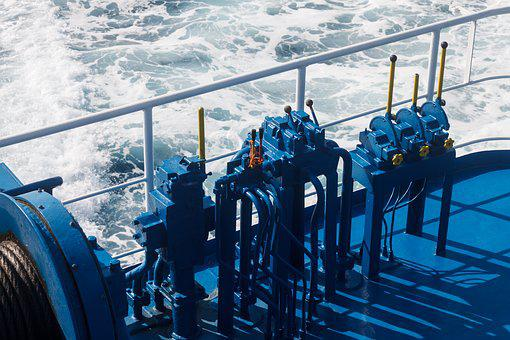 Industry, Body Of Water, Sea, Lever, Machine