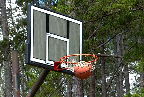 Basketball, Basketball Net, Sports, Outdoors, Sport