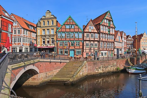 Waters, Architecture, Travel, Channel, River, Stade