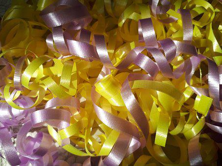 Tape, Confeti, Background, Give, Bright, Shining