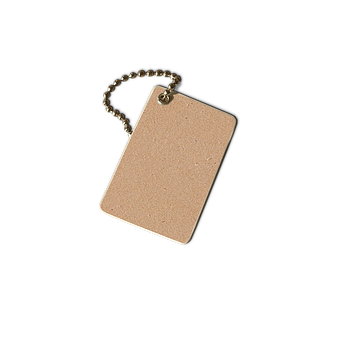 Tag, Transparent, Creative, Necklace, To Write