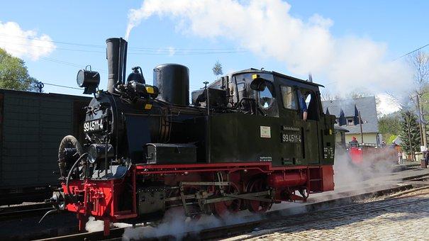 Steam, Industry, Motor, Transport System