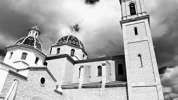 Architecture, Travel, Old, The Dome Of The Sky, Church