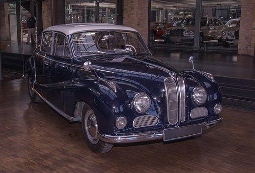 Auto, Bmw, Oldtimer, Classic, Baroque Angel, Vehicle