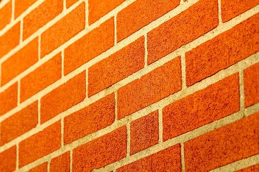 Brick, Wall, Pattern, Cement, Brickwork