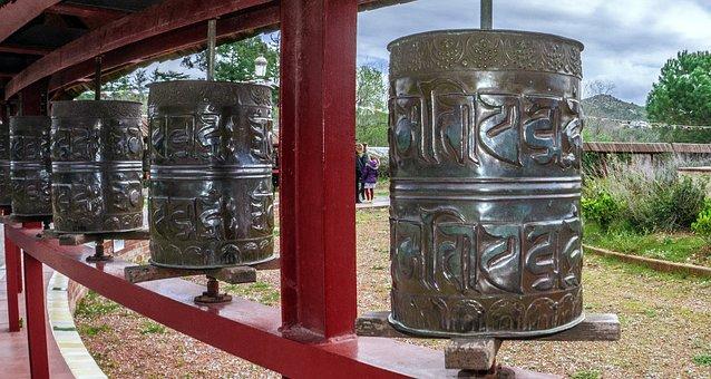 Cylinders, Religion, Indu, Buddhism, Buddha