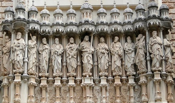 Apostles, Church, Christianity, Jesus, Architecture