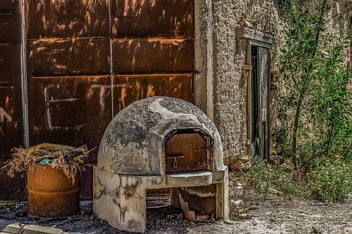 Decay, Rust, Furnace, Aged, Weathered, Rusty, Wall