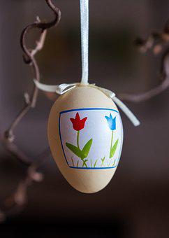 Egg, Easter Egg, Decoration, Colorful, Painted, Easter