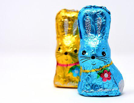 Easter Bunny, Chocolate, Easter, Delicious, Sweetness
