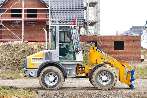 Machine, Equipment, Excavators, Site