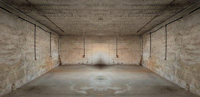 Empty, Abandoned, Warehouse, Architecture, Box, Factory