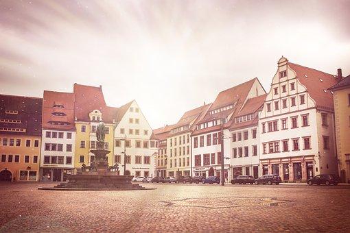 Freiberg, Silver, Mountain Town, Historically, Saxony
