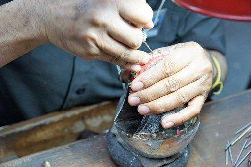Hand, Man, Human, Equipment, Dirty, Adult, Skill