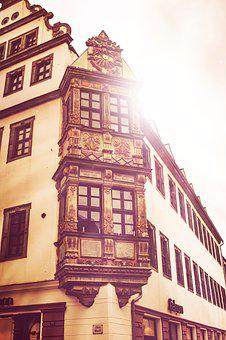 Freiberg, Bay Window, Silver, Mountain Town
