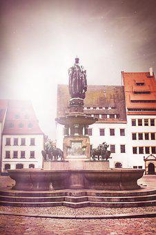 Freiberg, Silver, Mountain Town, Historically, Saxony