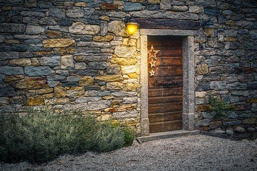 Wall, Brick, Old, Stone, Architecture, Facade, Home