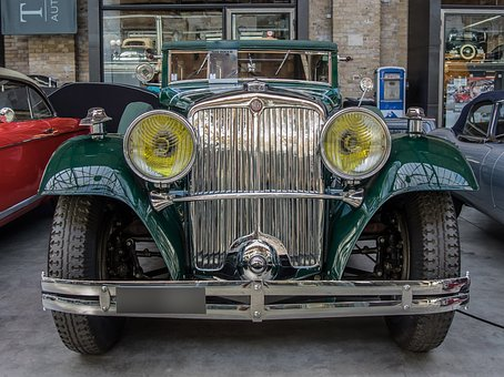 Auto, Tatra, Oldtimer, Classic, Chrome