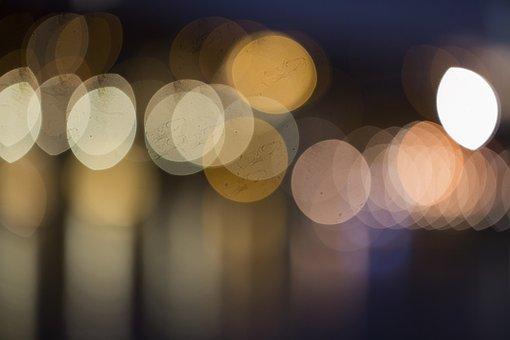 Flares, Background, Lights, Points Of Light