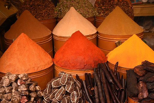 Spice Cone, Morocco