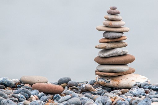 Stone Tower, Stones, Cairn, Stone Pile, Balance, Zen
