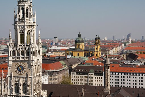 Architecture, City, Travel, Church, Tower