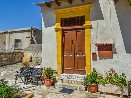 House, Architecture, Traditional, Door, Exterior