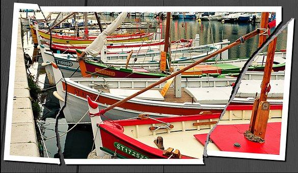 Boat, Transport, Industry, Body Of Water, Refuge