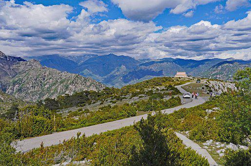 Maritime Alps, Viewpoint, Panorama