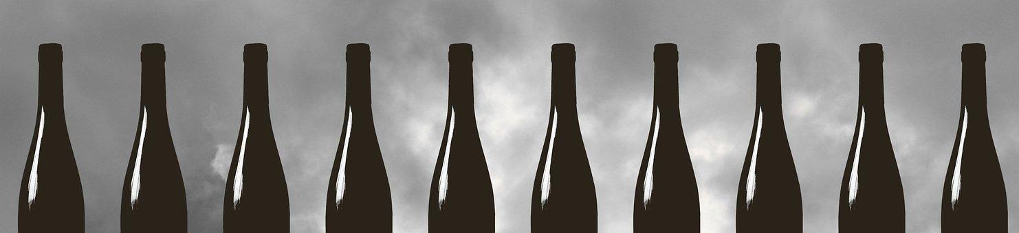 Bottle, Wine, Drink, Glass, Beverage, Cheers, Liquor