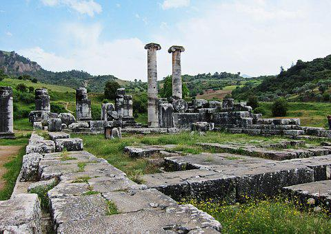 Roman Ruins, Sardes, Turkey, Roman, Ancient, Old, Ruin