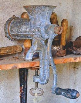 Mincer, Old, Antique