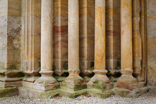 Pillar, Temple, Antiquity, Architecture, Stone