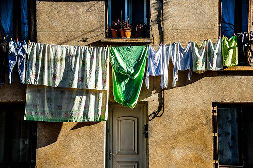 Hanging, Architecture, Washing Line, Travel, House