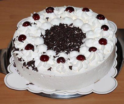 Cake, Piece Of Pie, Black Forest, Calories, Eat