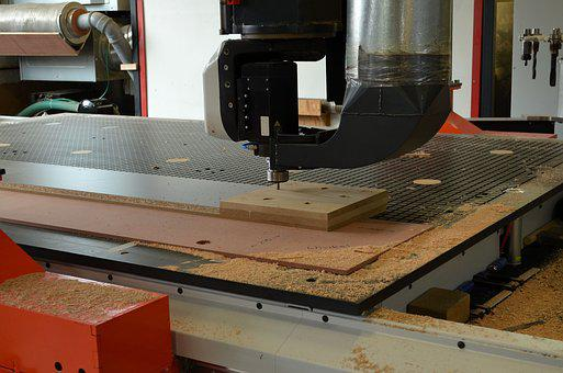 Joinery, Carpenter, Machine, Control, Milling, Industry