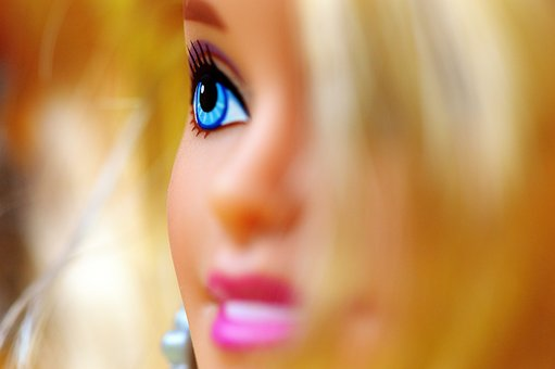 Beauty, Barbie, Pretty, Doll, Charming, Children Toys