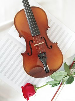 Classic, Wood, Tool, Violin, Bowed Stringed Instrument