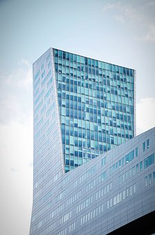 Architecture, Glassware, Contemporary, Skyscraper