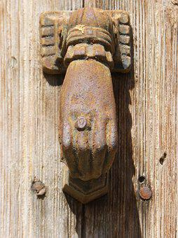Passepartout, Crafts, Call, Door, Caller, Wood